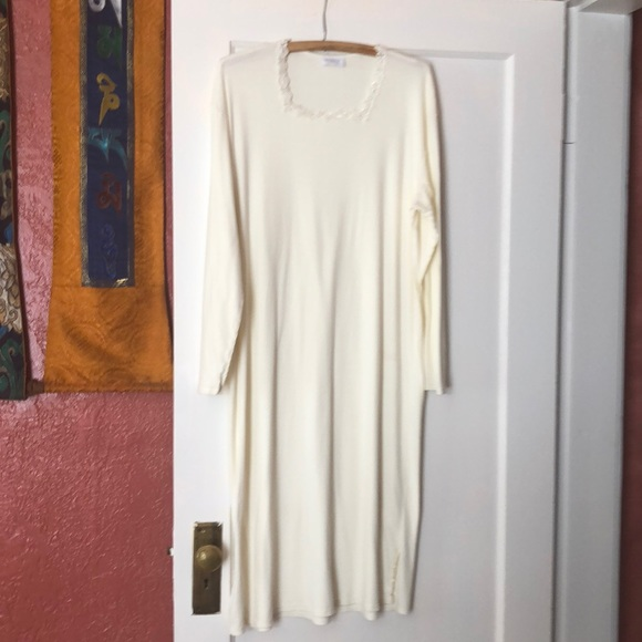 e0d8c070ec Hanro Other - Hanro Long Sleeved Nightgown